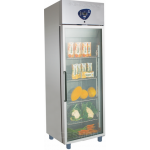PROFESSIONAL FREEZERS -10° -25° 400 Lt GLASS DOOR